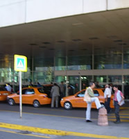 Istanbul Airport taxis